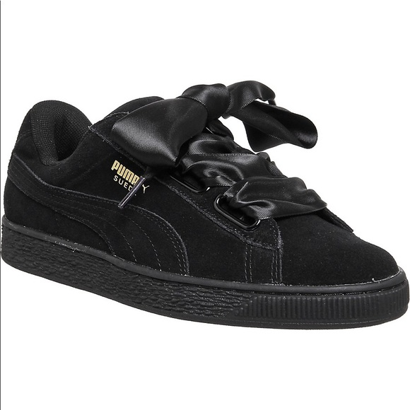 online store f0df0 860d7 Puma Suede Heart Satin 2 Sneakers